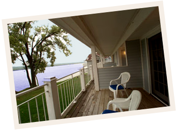 photo of French Country Inn Lakefront balconies